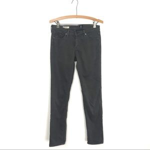 AG Jeans The Stilt Cigarette Dark Gray Pant 27R A4